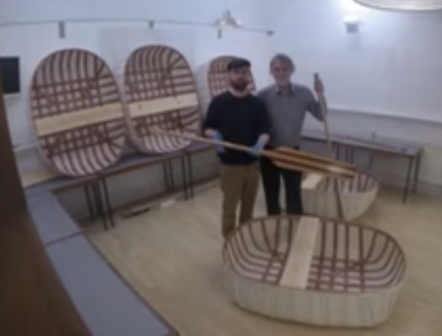 Mark Aplin's Coracle Course